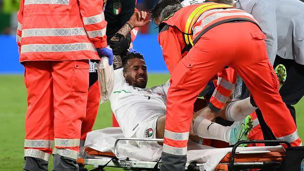 Blessure de l'Italien Spinazzola / Mourinho : « C'est terrible pour l'Italie et  pour moi qui ne l'aurai pas pendant environ six mois ! »