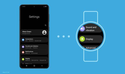 Samsung lance une montre compatible avec le programme One UI