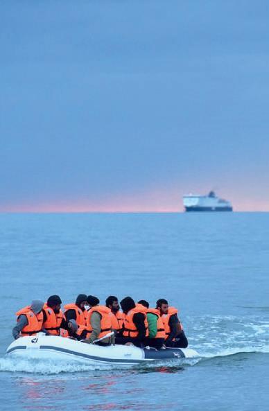 Migration : Le Royaume-Uni va durcir les peines contre les illégaux