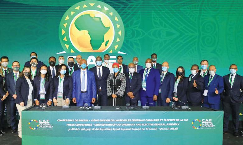 CAF : Réunion du Comité Exécutif au Complexe  Mohammed VI de Maâmoura le 16 juillet