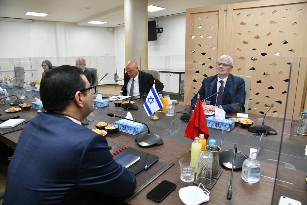 Maroc-Israël : Fouad Yazourh s'est entretenu avec Alon Ushpiz ce mercredi
