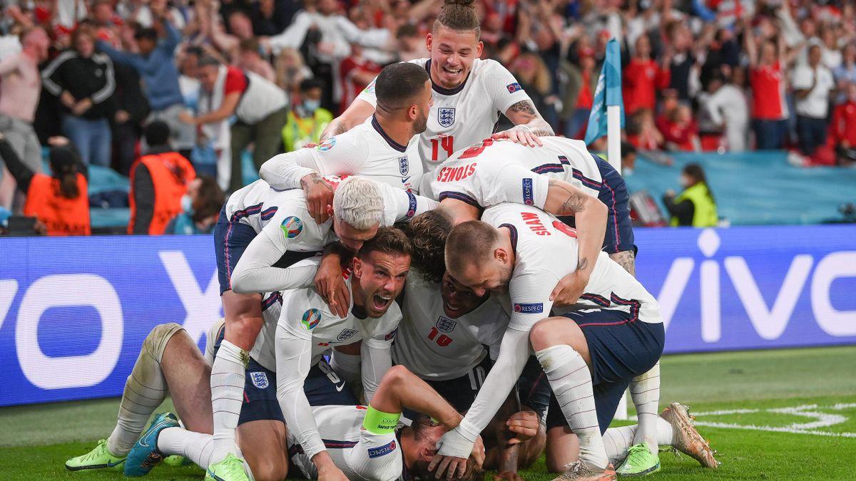 Euro: Les Anglais en finale après leur victoire face aux Danois (2-1)