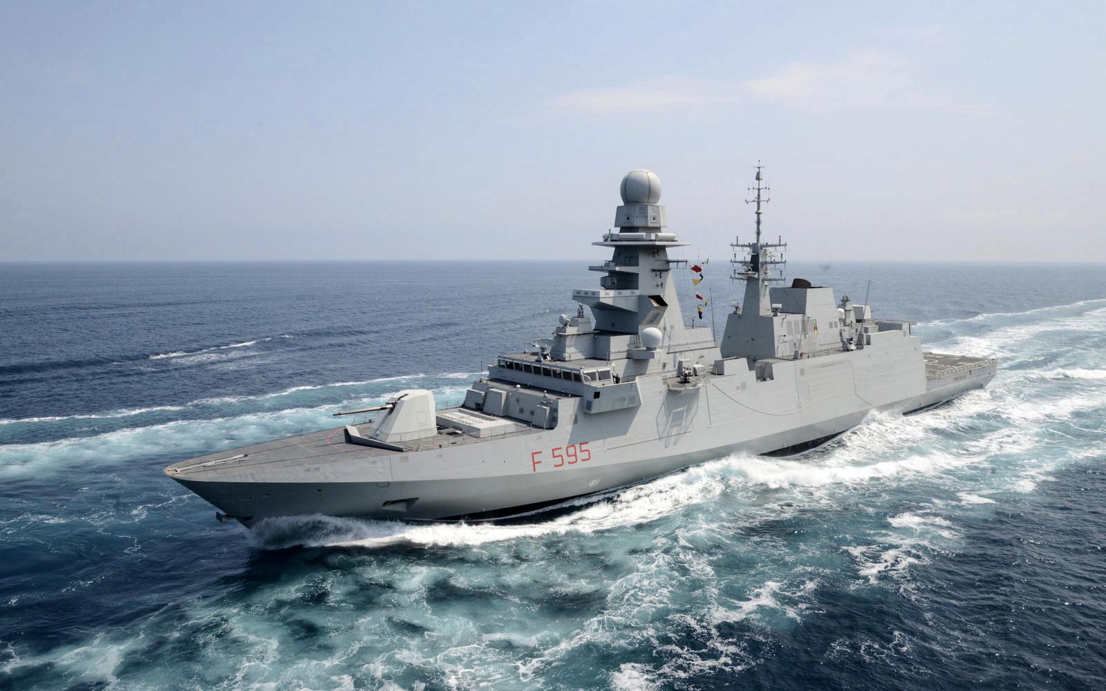 Le Maroc s'apprête à acquérir deux frégates italiennes