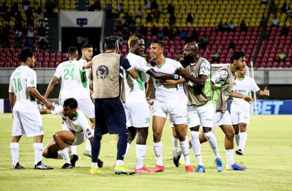 RCA-JSK (2-1) : Le Raja remporte sa 3ème Coupe de la Confédération africaine