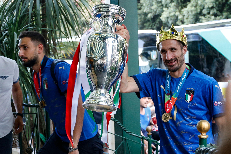 Giorgio Chiellini, roi de l'Italie !
