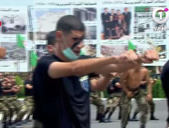 Algérie : « Comedy show » dans une cérémonie militaire