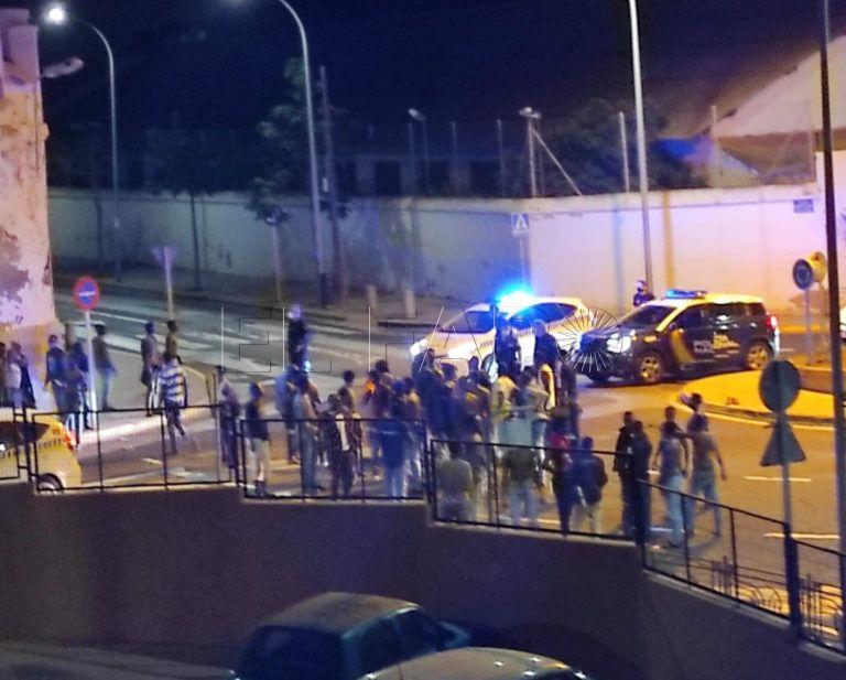 119 migrants entrent la ville occupée de Melilia