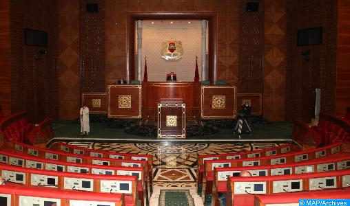 La Chambre des conseillers : plénière mardi pour voter les projets de textes législatifs prêts