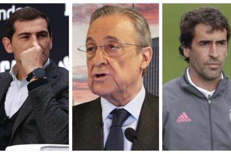 Real / Florentino Pérez : «  Casillas et Raul des…escrocs !? »