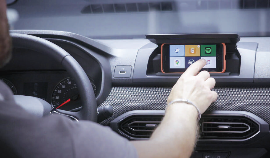 Pénurie de composants électroniques: Dacia livre des véhicules sans systèmes multimédias