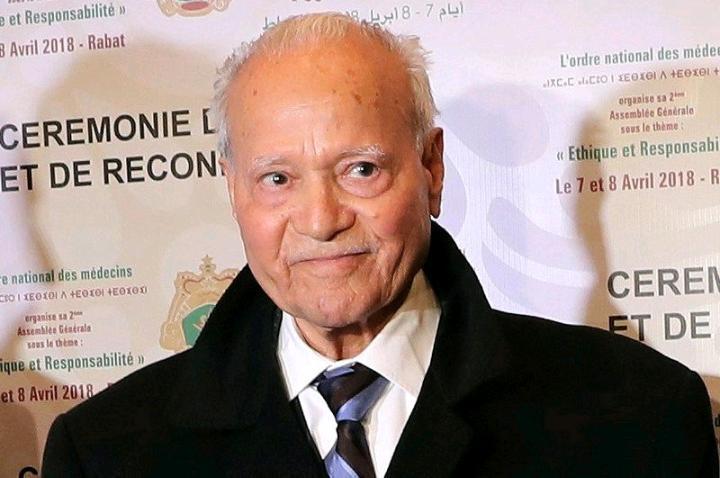 Feu Moulay Driss Archane, ancien médecin personnel de feu Hassan II.