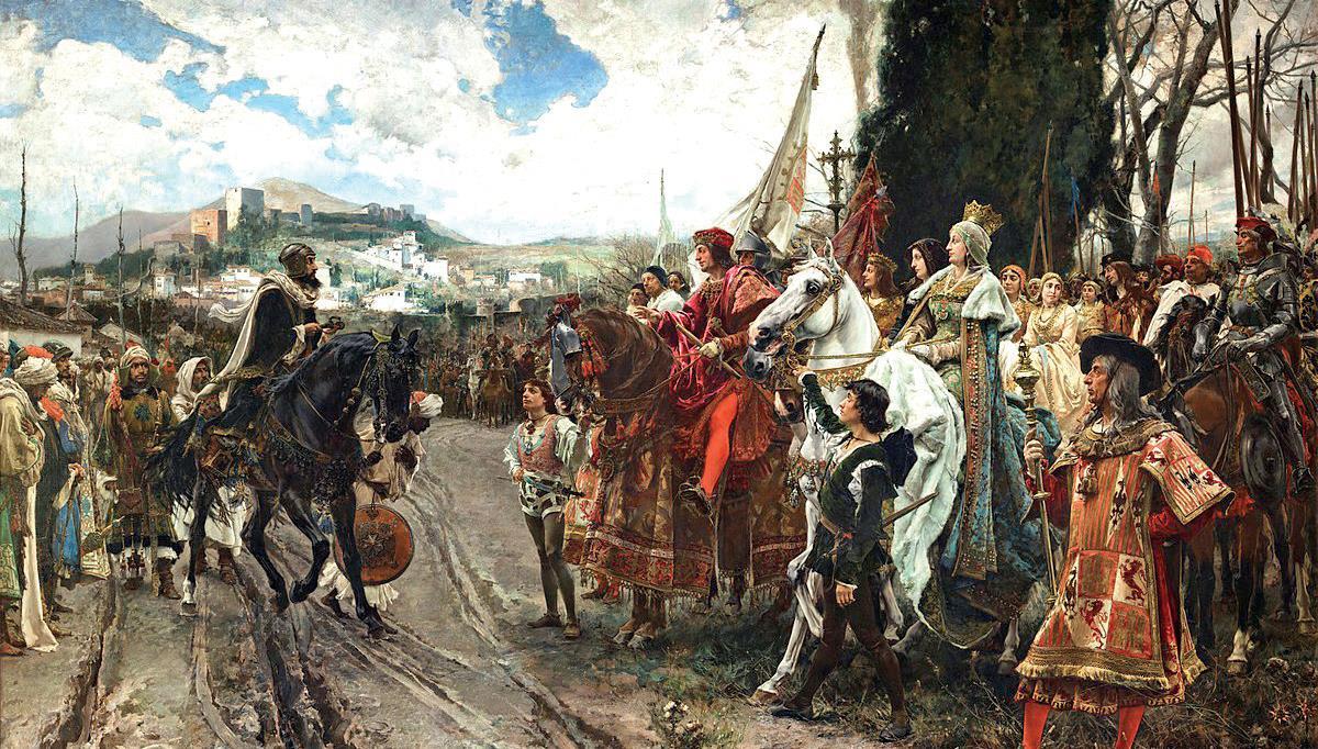 La chute de Grenade a précipité les appétits espagnols sur l'Afrique du Nord.