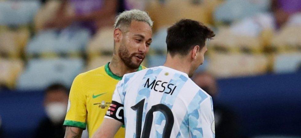 Copa America : 4 Argentins et 3 Brésiliens dans l'équipe type