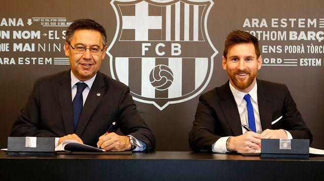 Officiel : Un autre nouveau contrat de Messi à Barcelone