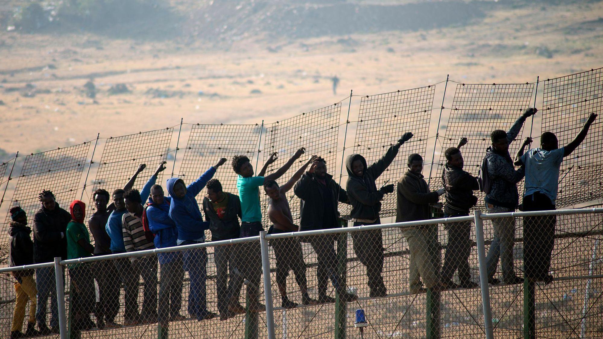Deuxième groupe de migrants : une centaine de subsahariens entrent à Mellilia en 48 heures