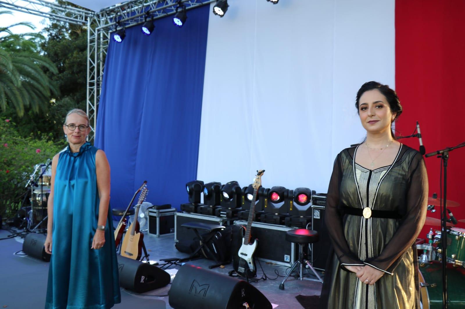 L'ambassadrice de France célèbre l'amitié franco-marocaine à l'occasion de la fête nationale de la Bastille