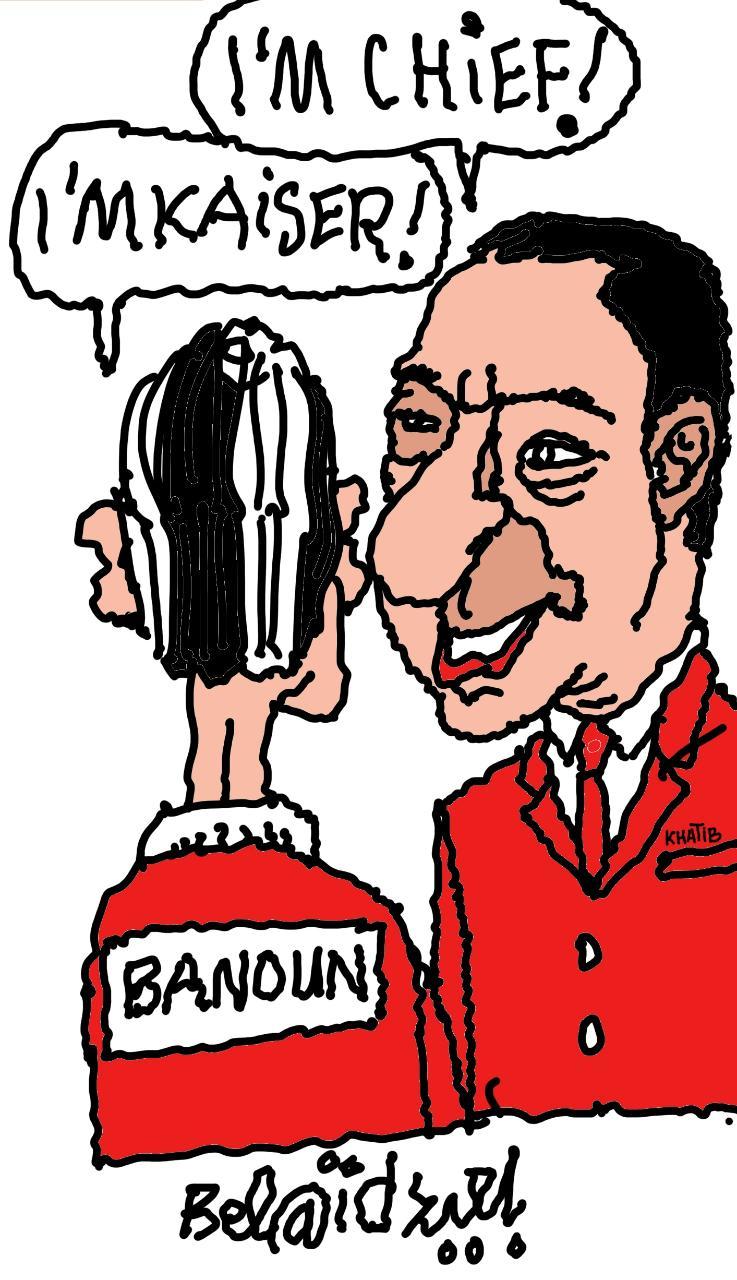 Finale de la Champions League d'Afrique Al Ahly-Kaiser Chiefs, ce samedi à Casablanca /  Mahmoud Al Khatib au siège de président, Badr Banoun ambassadeur marocain