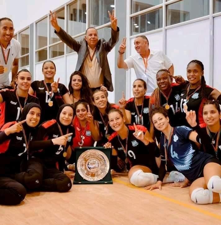 "Volley-ball : Le DHJ ""Dames"" champion du Maroc"