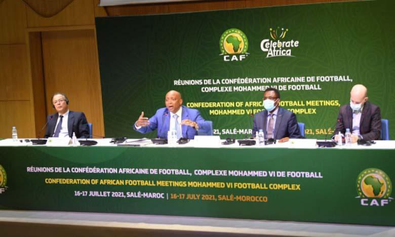CAF / Communiqué de presse : Le Comite exécutif valide le projet de la Superligue