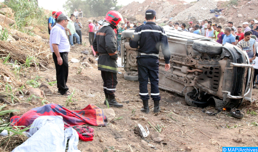 Accidents de la circulation : 29 morts et 2.588 blessés en périmètre urbain la semaine dernière