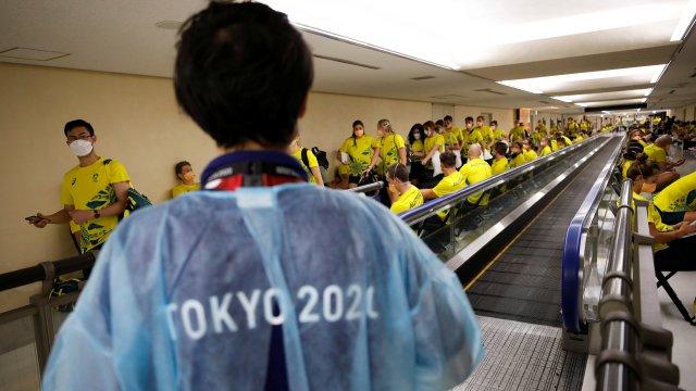 JO/Covid-19 : Les athlètes australiens en isolement à quelques jours du départ