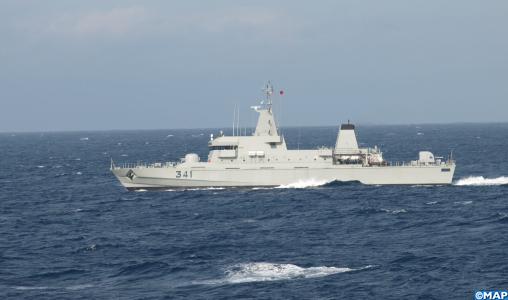 368 migrants secourus en Méditerranée par la Marine royale