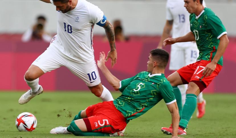 JO / Foot : Le Mexique éteint la France (4-1)