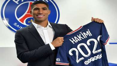 Hakimi impressionne les médias français