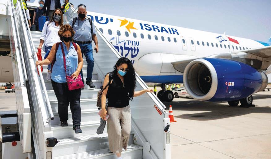 L'arrivée massive des Israéliens : une aubaine pour la saison estivale