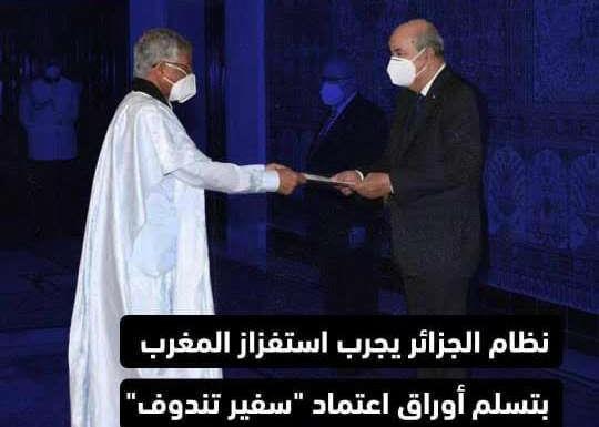 Une provocation algérienne irrite les internautes
