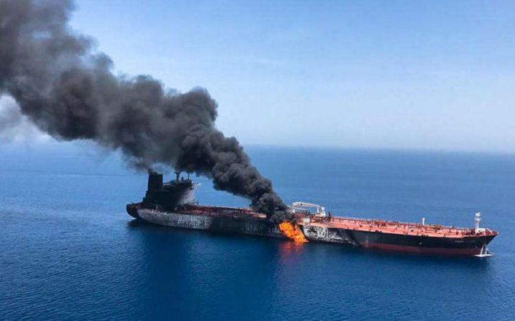 Un pétrolier attaqué en mer d'Oman : Israël veut porter l'affaire devant l'ONU