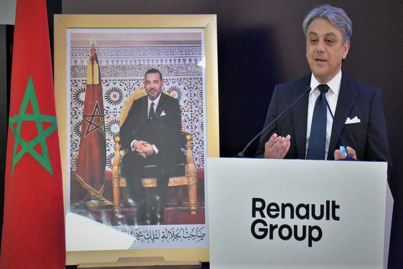 Luca De Meo : le Maroc, un des piliers du plan stratégique de Renault