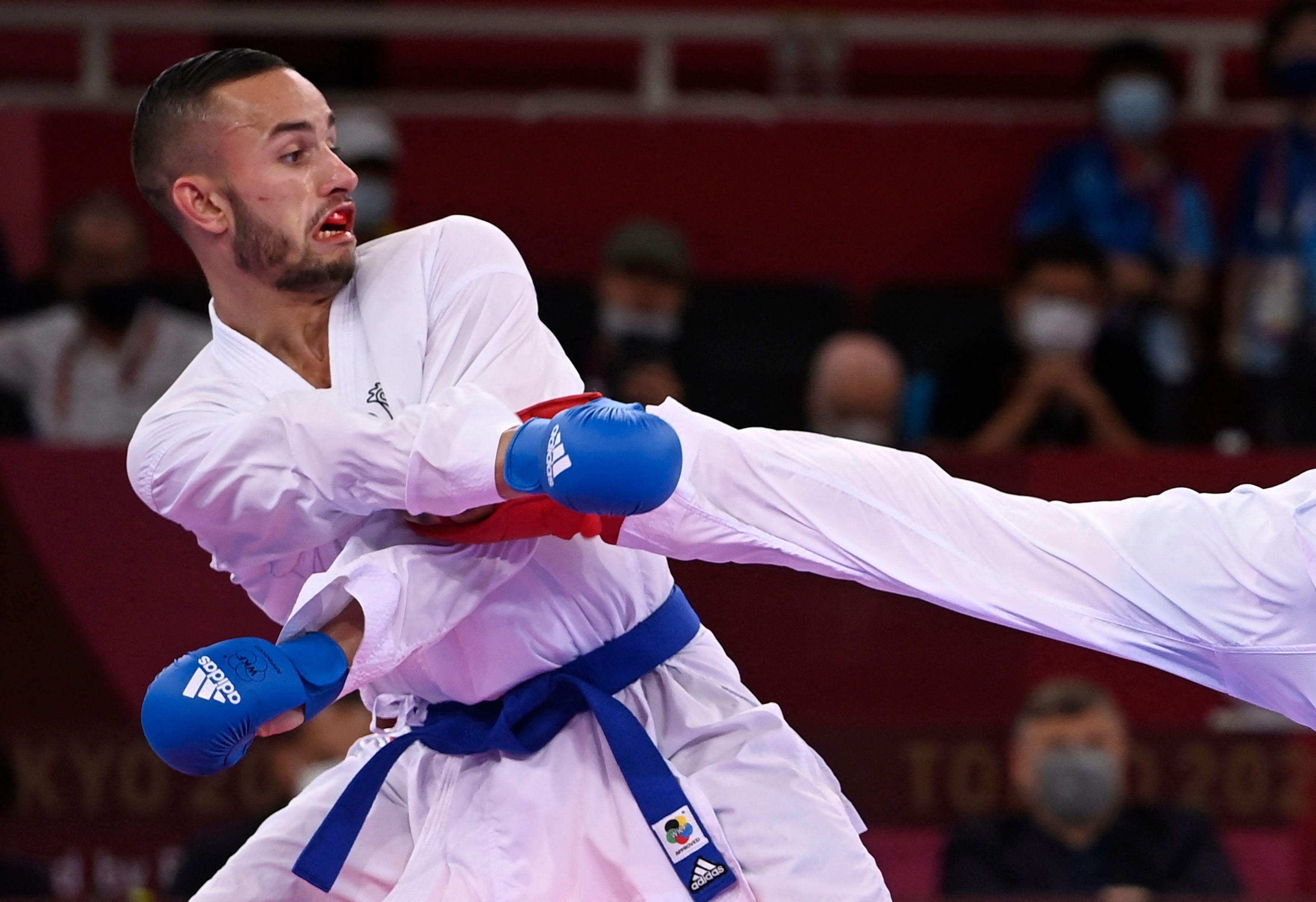 Karaté: Steven Da Costa premier champion olympique de l'Histoire de la discipline