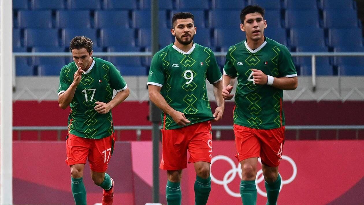 JO-Foot : Les Mexicains « bronzés » face aux Japonais (3-1)