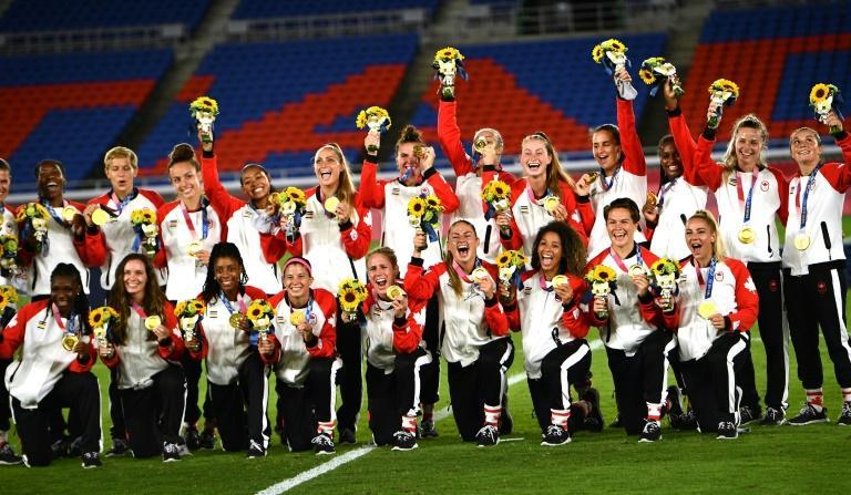 JO- Foot Féminin : La médaille d'or aux Canadiennes, l'argent aux Suédoises (1-1; 3-2 t.a.b)