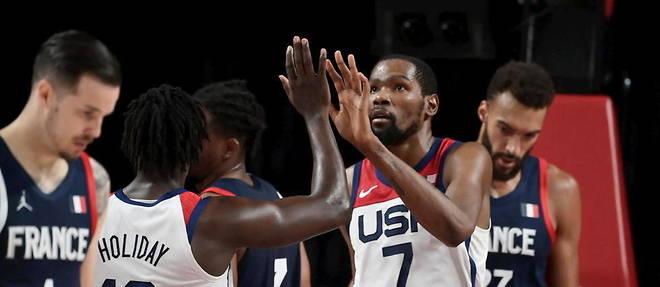 JO-Basket : La médaille d'or aux Américains, l'argent aux Français (87-82)