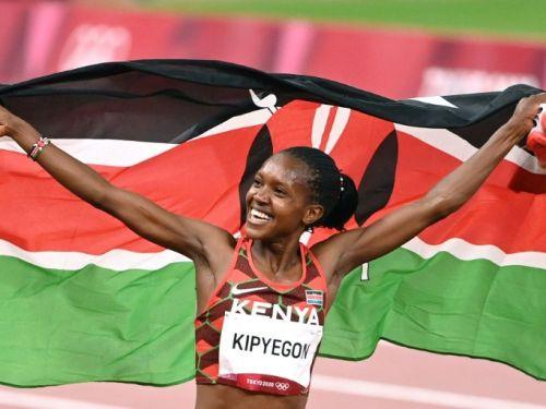 JO-Athlétisme / 1500 m : La Kenyane Faith Kipyegon remporte le titre et bat le record olympique