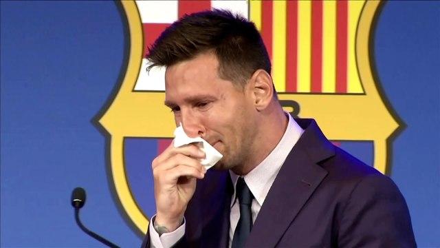 Messi en larmes : « J'ai promis à mes enfants que je reviendrai ! »