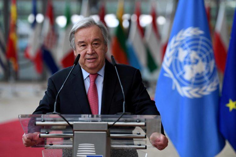 António Guterres : Le rapport d'experts du climat est une alerte rouge pour l'humanité
