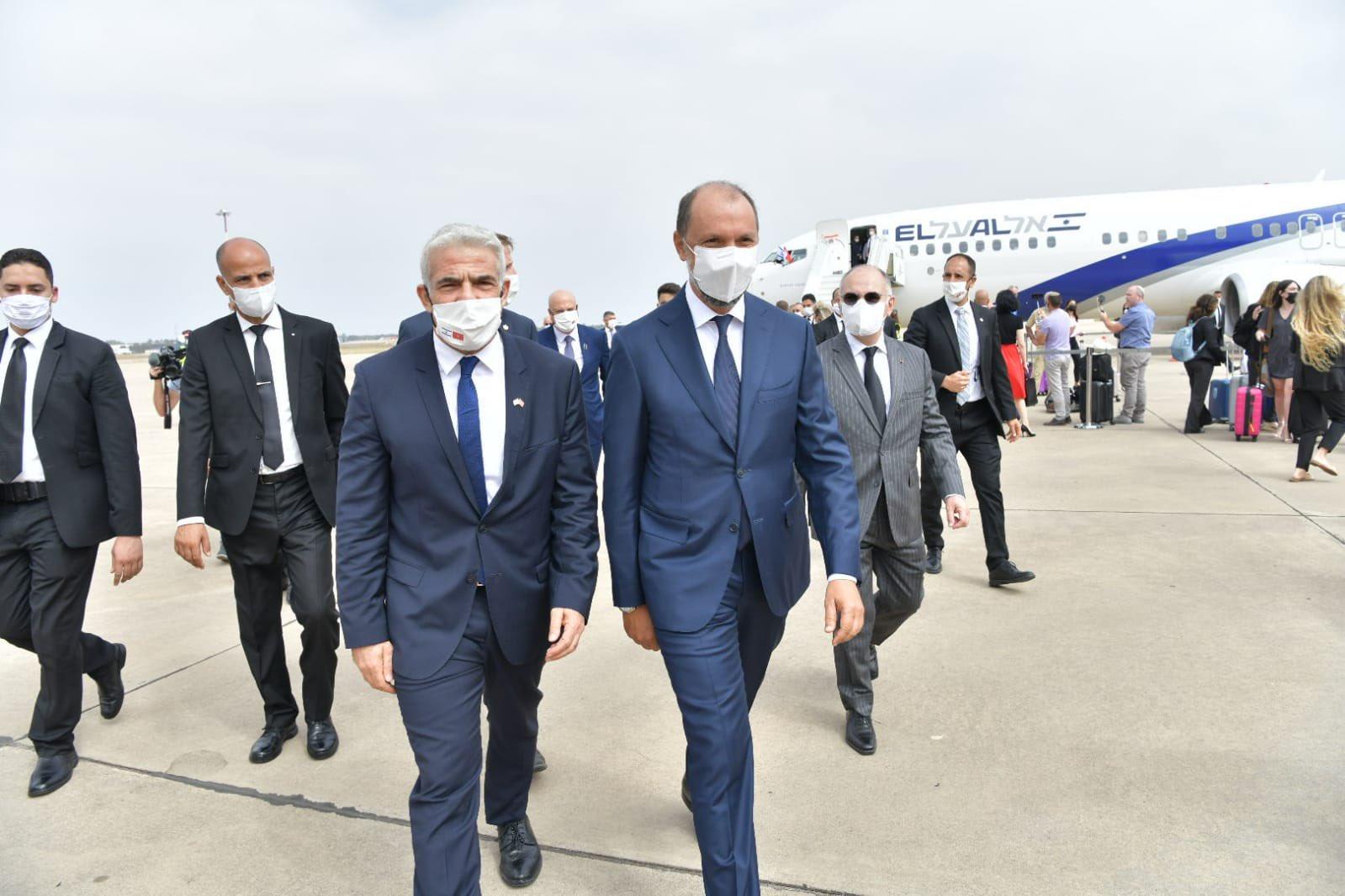 L'avion de la délégation israélienne atterrit au Maroc (vidéo)
