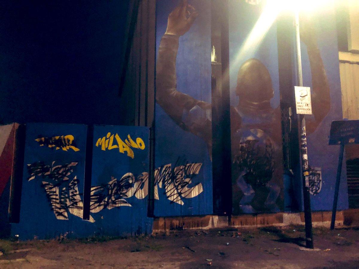 Des supportes de l'Inter dégrade une fresque murale de Lukaku !