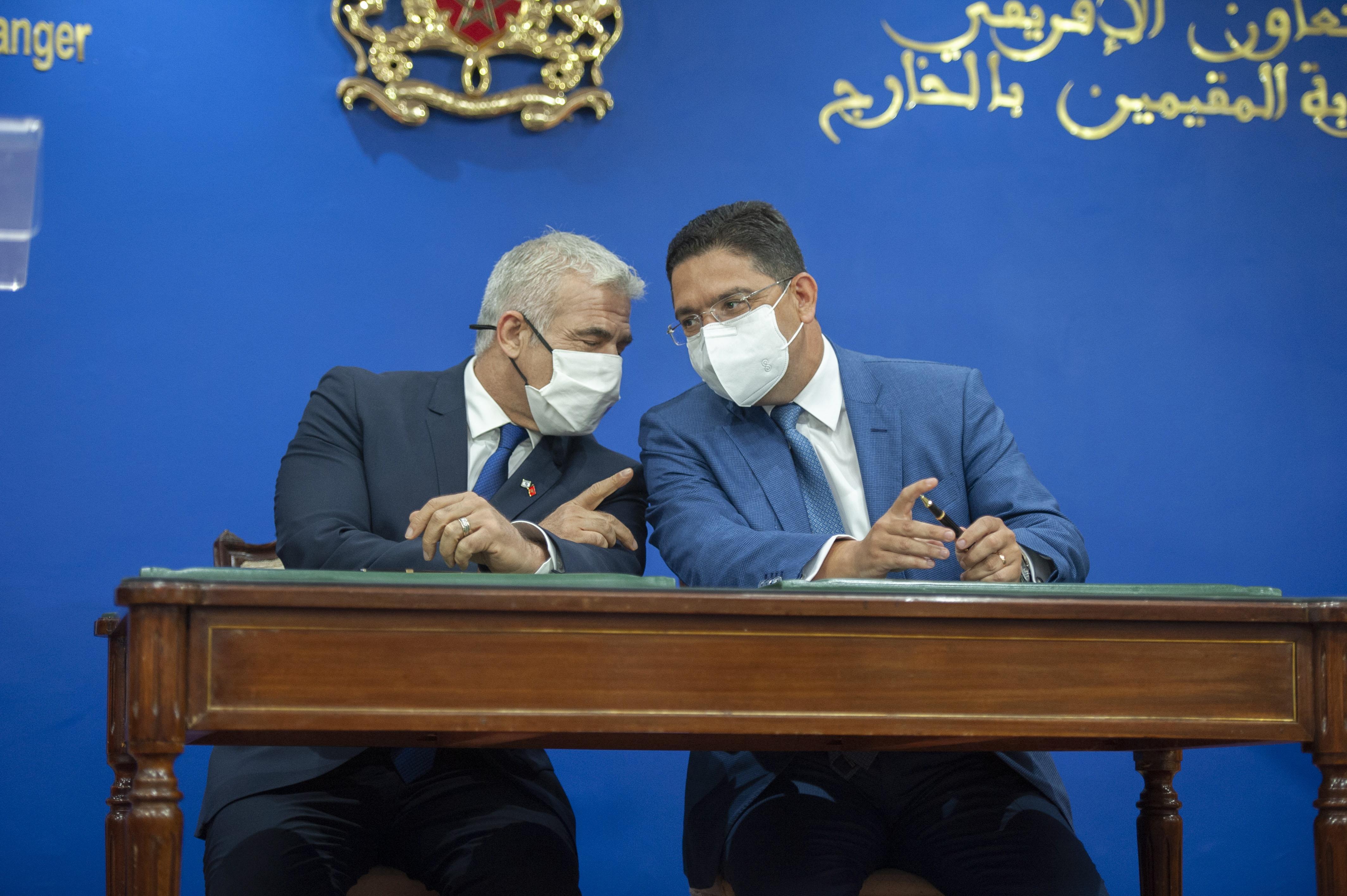 Yaïr Lapid : le rapprochement algério-iranien est inquiétant
