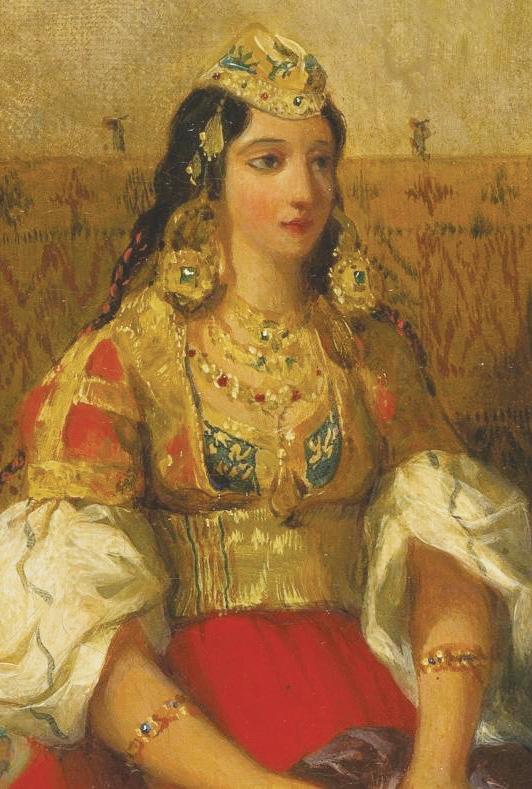 Eugène Delacroix, Juive de Tanger.