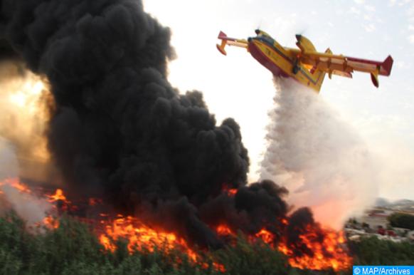 Chefchaouen: Un grand incendie ravage les forêts