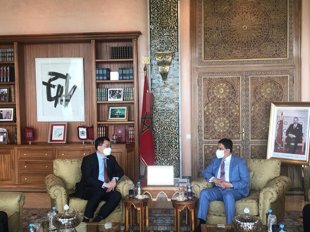 Nasser Bourita reçoit le Premier vice-ministre sud-coréen des AE