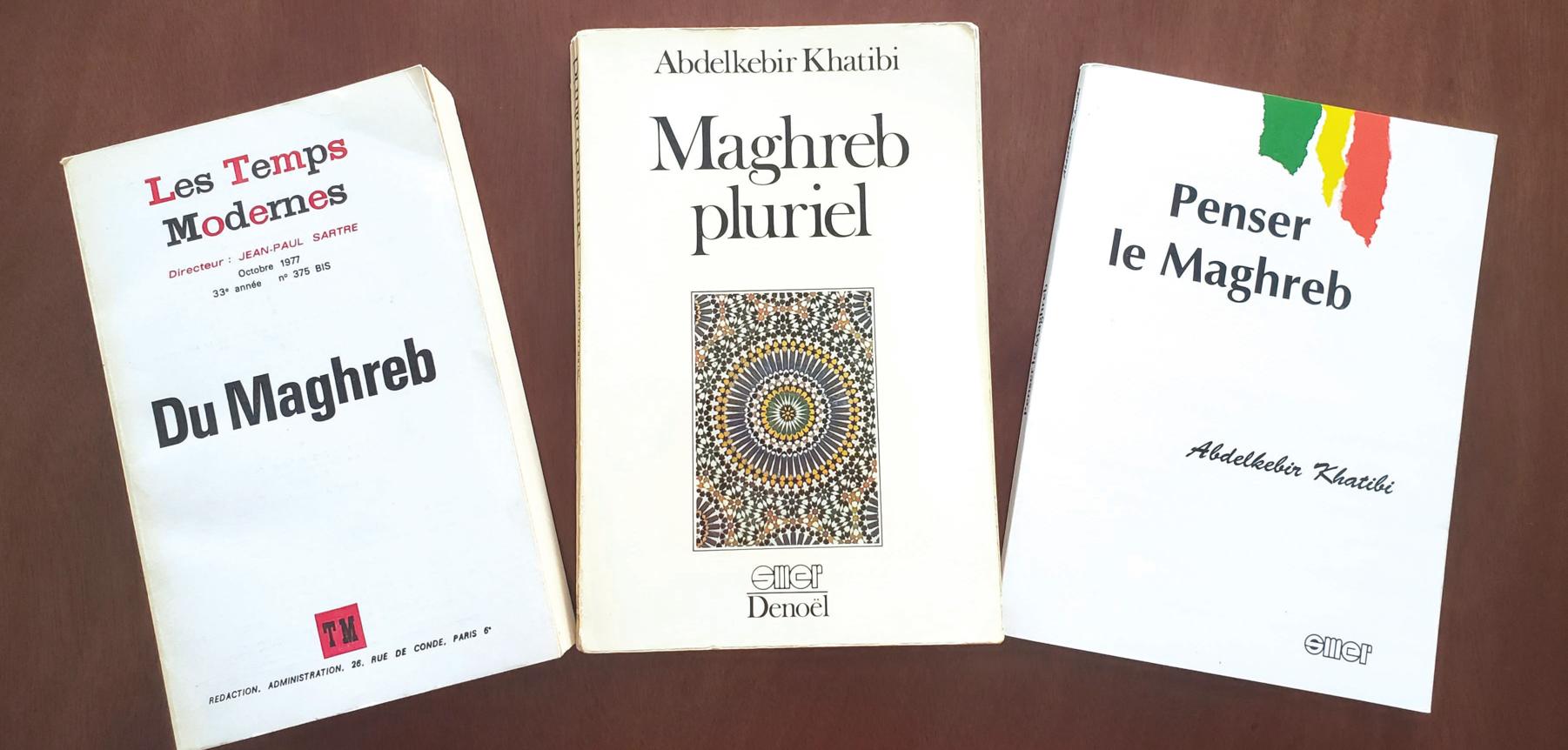 3 ouvrages, un engagement maghrébin