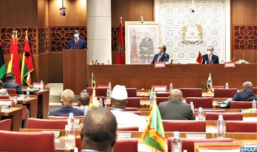 Dysfonctionnements du Parlement panafricain : la RDC prend acte des préoccupations d'une délégation parlementaire conduite par le Maroc