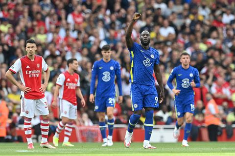 Arsenal-Chelsea (0-2) : Lukaku déjà buteur