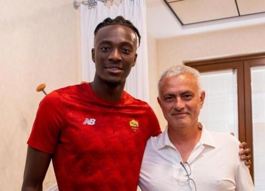 Serie A : Mourinho a été très satisfait d'Abraham, le nouvel arrivant !