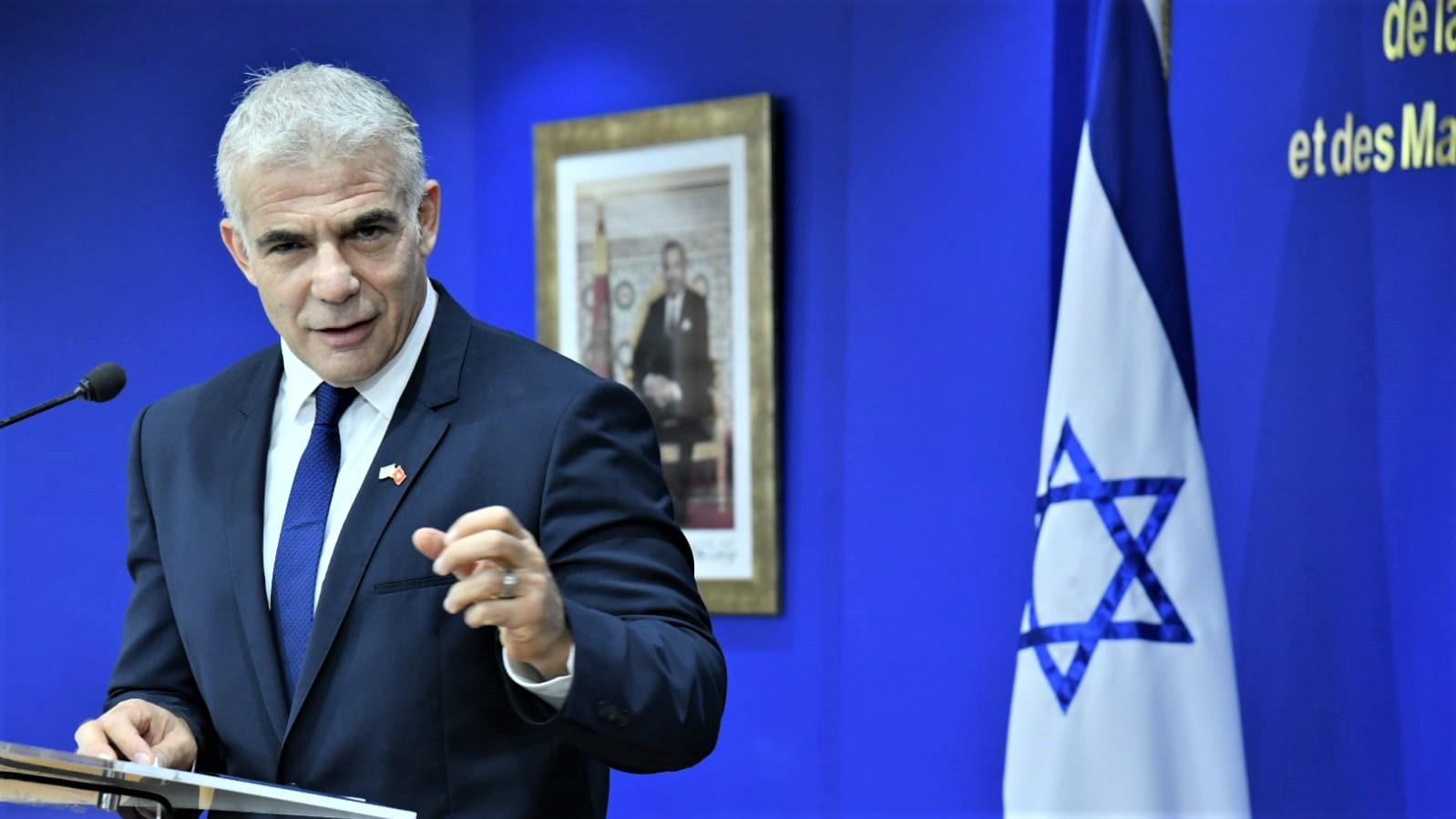 """La déclaration de Yair Lapid sur les liens entre l'Algérie et l'Iran renferme """"des informations précises"""""""